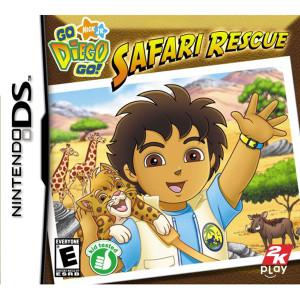 Go Diego Go! Safari Rescue Video Game For Nintendo DS
