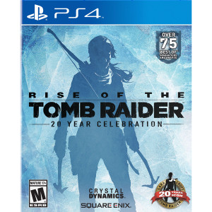 Rise of the Tomb Raider 20 Year Celebration Video Game For Sony PS4
