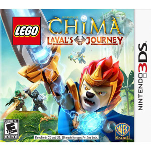 Lego Chima Laval's Journey Video Game For Nintendo 3DS