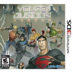 Young Justice Legacy Video Game For Nintendo 3DS