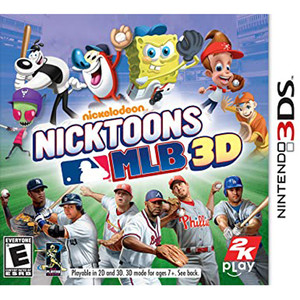 Nicktoons MLB 3D Video Game For Nintendo 3DS