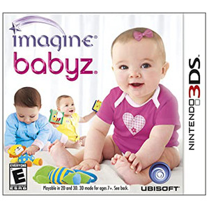 Imagine Babyz Video Game For Nintendo 3DS