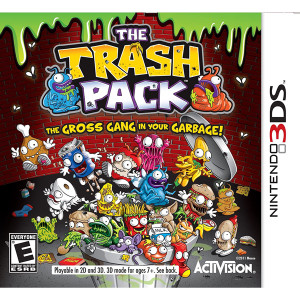 The Trash Pack Video Game For Nintendo 3DS