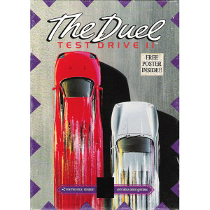 The Duel Test Drive II Complete Game For Sega Genesis