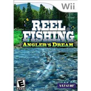 Reel Fishing Angler's Dream Video Game For Nintendo Wii