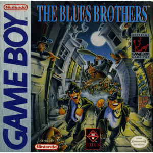 The Blues Brothers Video Game For Nintendo GameBoy