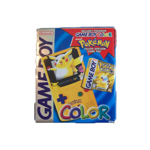 Complete GameBoy Color System Pikachu Edition in Box