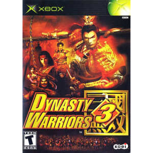 Dynasty Warriors 3 Video Game For Microsoft Xbox