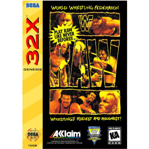WWF Raw Complete Game For Sega 32X