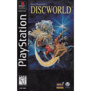 Terry Pratchett's Discworld Video Game Long Box For Sony PS1
