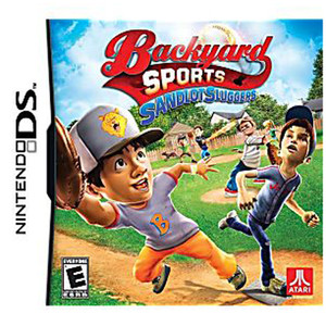 Backyard Sports Sandlot Sluggers Video Game For Nintendo DS