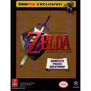 Legend of Zelda Ocarina of Time GameCube Official Game Guide For Nintendo GameCube