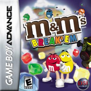 M&M's Break' Em Video Game For Nintendo GBA