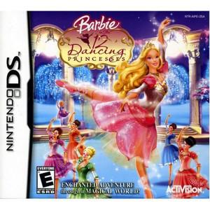 Barbie 12 Dancing Princesses Video Game For Nintendo DS