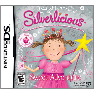 Silverlicious Sweet Adventure Video Game For Nintendo DS