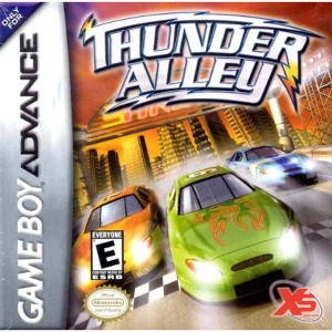 Thunder Alley Video Game For Nintendo GBA