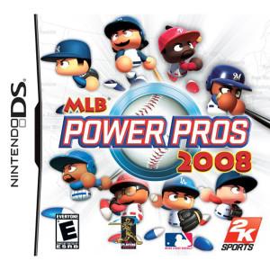 MLB Power Pros 2008 Video Game For Nintendo DS