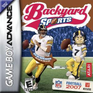 Backyard Sports Football 2007 Video Game For Nintendo GBA