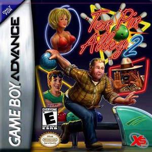 Ten Pin Alley 2 Video Game For Nintendo GBA