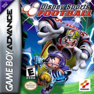 Disney Sports Football Video Game For Nintendo GBA
