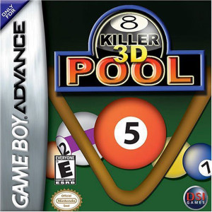 Killer 3D Pool Video Game For Nintendo GBA