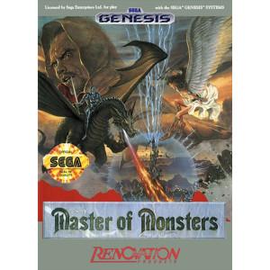 Master of Monsters Empty Box For Sega Genesis
