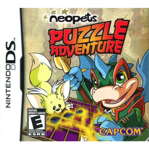 Neopets Puzzle Adventure Video Game For Nintendo DS