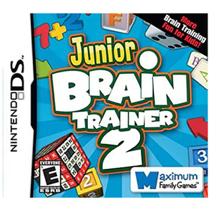 Junior Brain Trainer 2 Video Game For Nintendo DS