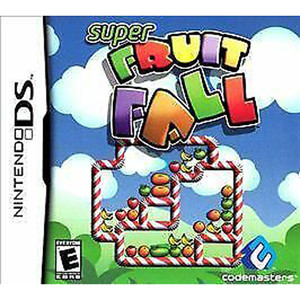 Super Fruit Fall Video Game For Nintendo DS