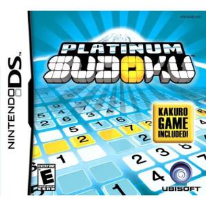 Platinum Sudoku Video Game For Nintendo DS
