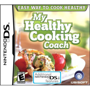 My Healthy Cooking Coach Video Game For Nintendo DS
