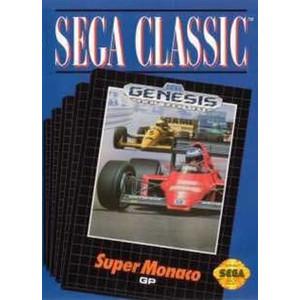 Super Monaco GP Classic Cover Empty Box For Sega Genesis