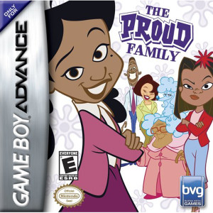 The Proud Family Video Game For Nintendo GBA