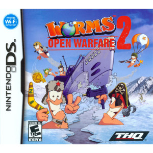 Worms Open Warfare 2 Video Game For Nintendo DS