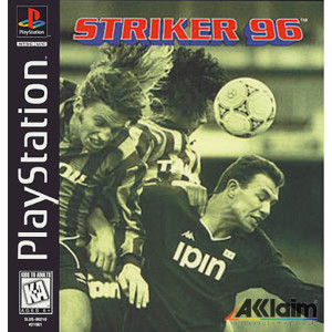 Striker 96 Video Game For Sony PS1