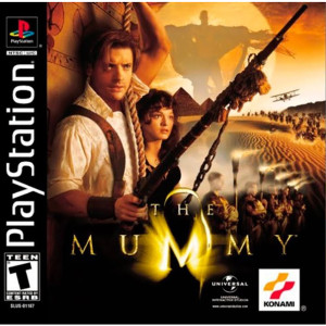 The Mummy Video Game For Sony PS1