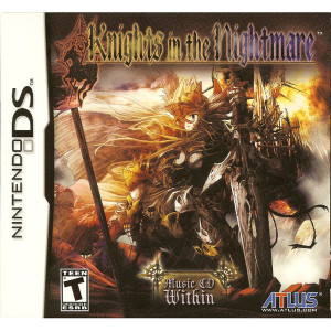 Knights in the Nightmare Video Game For Nintendo DS