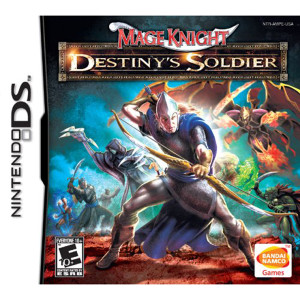Mage Knight's Destiny Soldier Video Game For Nintendo DS