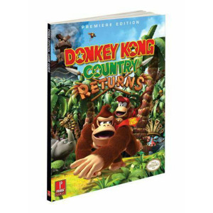 Donkey Kong Country Returns Prima Official Game Guide For Nintendo Wii and Nintendo 3DS