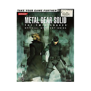 Metal Gear Solid Twin Snakes Official Game Guide For Nintendo GameCube