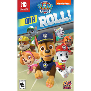 Paw Patrol On A Roll Video Game For Nintendo Switch