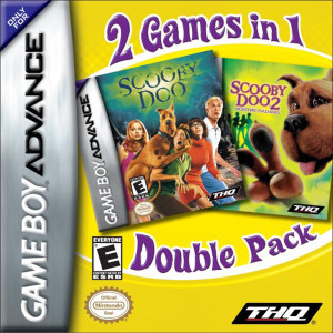 Scooby-Doo and Scooby-Doo 2 Monsters Unleashed Video Game For Nintendo GBA