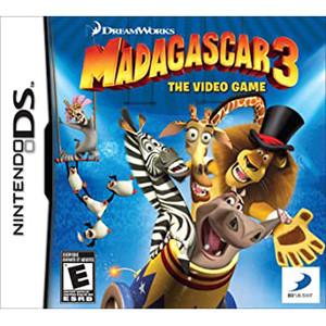 Madagascar 3 Video Game For Nintendo DS