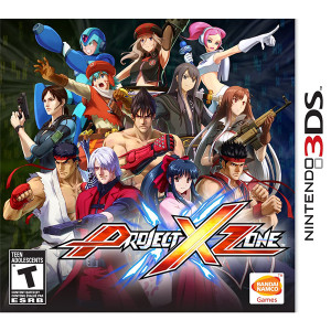 Project X Zone Video Game For Nintendo 3DS