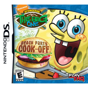 Spongebob vs The Big One Beach Party Cook Off Video Game For Nintendo DS