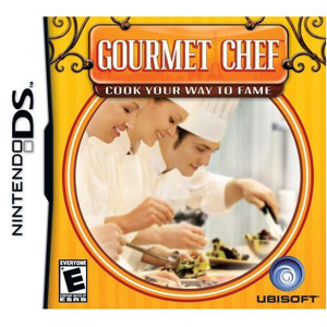 Gourmet Chef Video Game For Nintendo DS