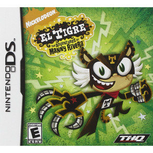 El Tigre Adventures Manny Rivera Video Game For Nintendo DS