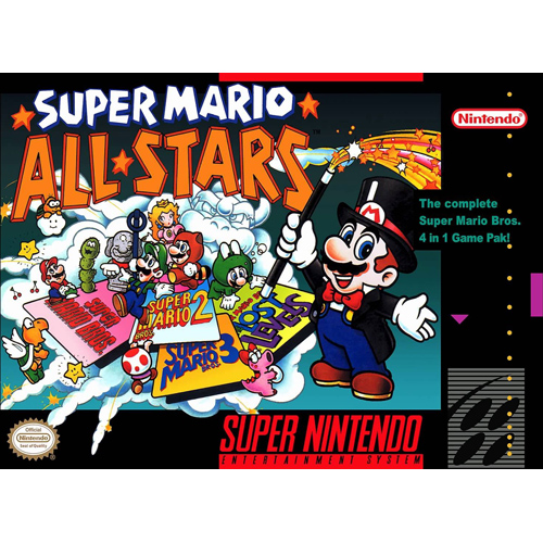 Super Mario All-Stars - SNES Game