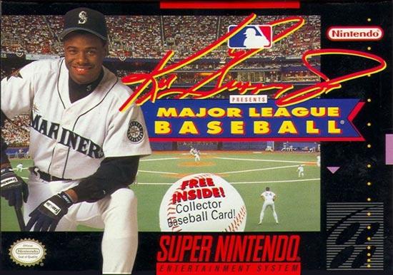 dfe488c7f3 Ken Griffey Jr. Presents MLB Super Nintendo SNES Game For Sale