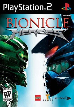 Lego Bionicle Heroes Ps2 Game For Sale Dkoldies